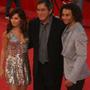 High School Musical 3: fotogallery del red carpet romano - Il regista Kenny Ortega insieme a Ashley Tisdale e Corbin Bleu