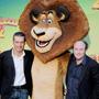 Madagascar 2, la photo call dei doppiatori - Due coppie di comici d'eccezione