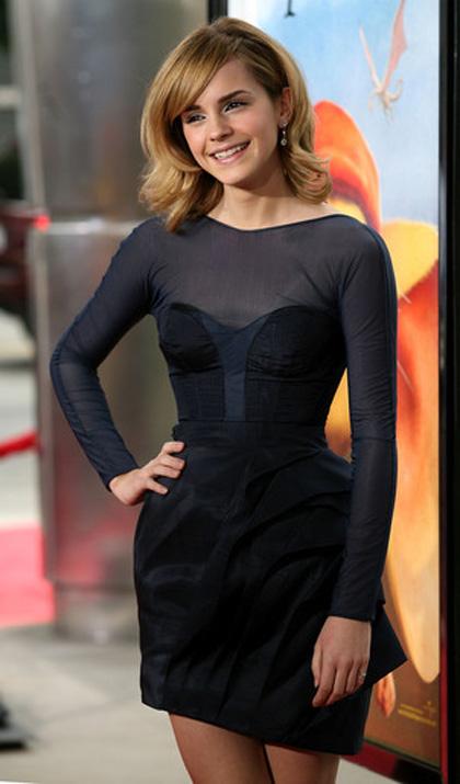 In foto Emma Watson (28 anni) Dall'articolo: Emma Watson alla premiere di The Tale of Despereaux.