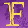 Coraline: i poster delle 26 lettere dell'alfabeto - La lettera F