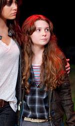 Zombieland: prime immagini di Eisenberg, Harrelson e Breslin - Columbus (Jesse Eisenberg), Wichita (Emma Stone) e Little Rock (Abigail Breslin)