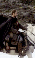 Robin Hood: le foto di Russell Crowe in Wales