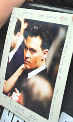 Nemico Pubblico, premiere a Londra - Le fans di Johnny Depp