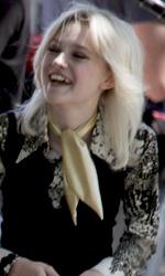 The Runaways: Kristen Stewart e Dakota Fanning sul set - Kristen Stewart (Joan Jett) e Dakota Fanning (Cherie Currie)