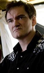 Bastardi senza gloria: Tarantino ha finito il montaggio finale - Quentin Tarantino sul set