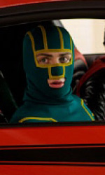 Comic-Con: le immagini in anteprima di Entertainment Weekly - Kick-Ass (Aaron Johnson) e Red Mist (Christopher Mintz-Plasse)