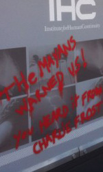 Il cartellone della campagna virale -