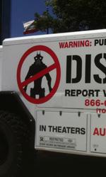 District 9: il camion della MNU - La fiancata