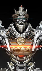 Concept art di Josh Nizzi di Burger King Transformer -