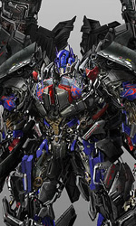 Concept art di Josh Nizzi di Optimus Prime Power-Up - 