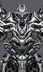 Concept art di Josh Nizzi di Megatron -
