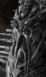 Transformers 3: vedremo Unicron? - Concept art di Ryan Church per le ossa di Fallen