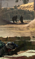 Concept art di Ryan Church di Palm Dale Quarry -