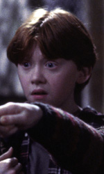 Harry Potter e la pietra filosofale avrà un'edizione estesa? - Ron (Rupert Grint) ed Hermione Granger (Emma Watson)