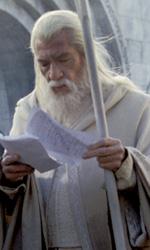 The Hobbit: Ian McKellen rivela novit� sul casting - Jackson e McKellen sul set del Signore degli Anelli