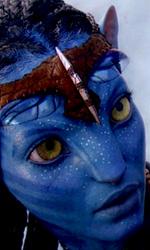 Avatar: prime immagini dei Na'vi - Neytiri (Zoe Saldana)