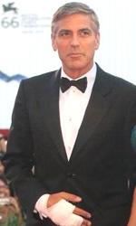 Mostra di Venezia: il debutto della nuova coppia Clooney-Canalis - George Clooney e Elisabetta Canalis