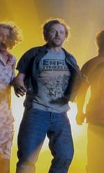 Paul: prime immagini ufficiali di Simon Pegg e Greg Mottola - Blyte Danner, Simon Pegg, Nick Frost e Kristen Wiig