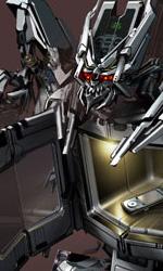 Michael Bay inizia a lavorare a Transformers 3 - Il concept art di Microwave Bot