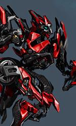 Michael Bay inizia a lavorare a Transformers 3 - Il concept art di Sideswipe