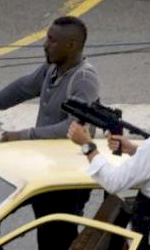 The Losers: prime immagini del cast - Jeffrey Dean Morgan ed Idris Elba sul set