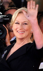Meryl Streep sul red carpet romano