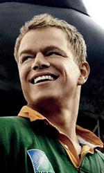 Invictus: primo poster ufficiale del film su Mandela - Primo poster di Freeman e Damon