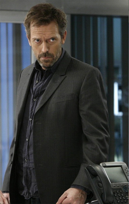 In foto Hugh Laurie (58 anni)