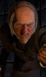 A Christmas Carol: nuove immagini - Ebenezer Scrooge