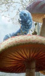 Alice in Wonderland: nuovo poster - La scan del D23