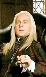 Harry Potter e i doni della morte: prime immagini di Xeno Lovegood - Lucius a Villa Malfoy