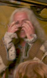 Harry Potter e i doni della morte: prime immagini di Xeno Lovegood - Xeno Lovegood e Ron