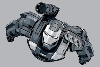 iron noir war machine