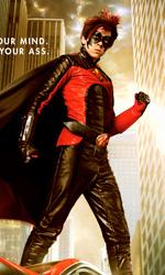 Kick-Ass: il character poster di Red Mist - Red Mist combatte insieme a Kick-Ass