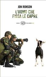 L'uomo che fissa le capre, il libro - La recensione **