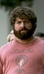 Due Date: le immagini dal set di Downey Jr. e Galifianakis - Zack Galifianakis sul set