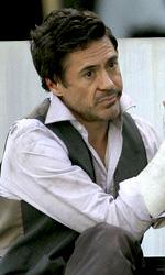 Due Date: le immagini dal set di Downey Jr. e Galifianakis - Robert Downey Jr. sul set