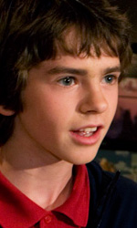 Astro Boy: ultime immagini del film - Freddie Highmore in sala di doppiaggio