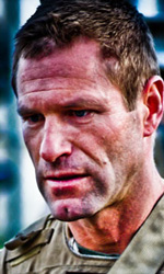 Battle: Los Angeles, prime foto dal set - Aaron Eckhart nel nuovo film di Liebesman