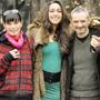 Imago Mortis: photo call - Il regista Stefano Bessoni posa con gli attori