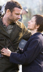 Defiance - I giorni del coraggio, il film - Nei boschi di Vilnus  per ricreare l'accampamento dei Bielski