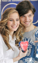 Questo piccolo grande amore, photo call - Emanuele e Mary