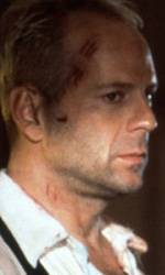 Luc Besson compie cinquant'anni - Luc Besson e Bruce Willis
