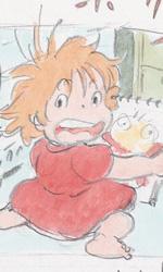 Ponyo sulla scogliera: gli artwork - Altri sketch su Ponyo
