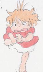 Ponyo sulla scogliera: gli artwork - Degli sketch di Ponyo
