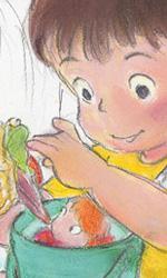 Ponyo sulla scogliera: gli artwork - Sosuke, modellato sul figlio di Miyazaki