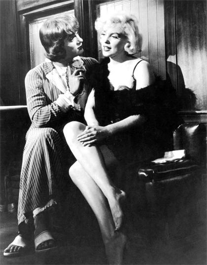 В Мой Мир. Мерилин Монро. В джазе только девушки (60 фото).