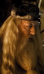 Harry Potter e il principe mezzosangue: nuove immagini di Dumbledore ed Harry - Michael Gambon interpreta Albus Dumbledore