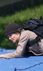 Salt: nuove immagini dal set - La Jolie in una scena d'azione