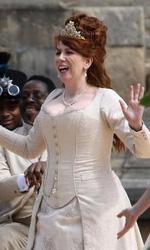 Gulliver's Travels: prime immagini dal set - Catherine Tate durante una scena